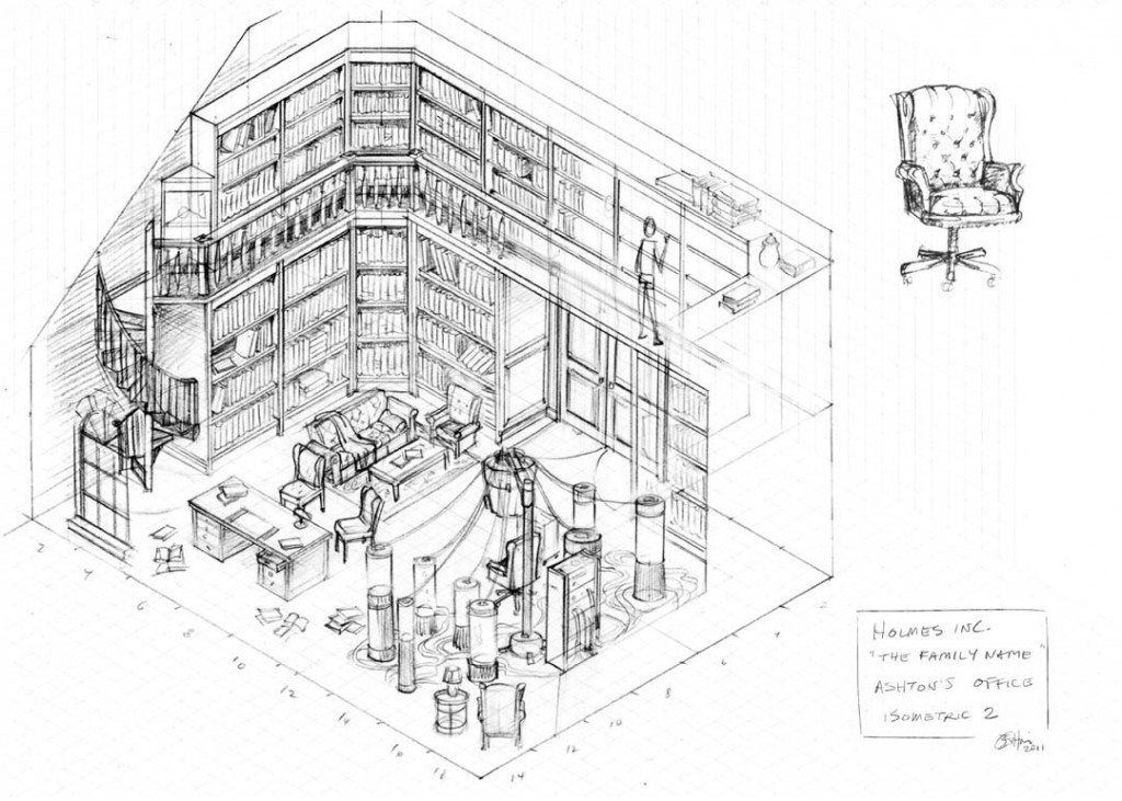 Holmes Inc., The Family Name, Isometric 3