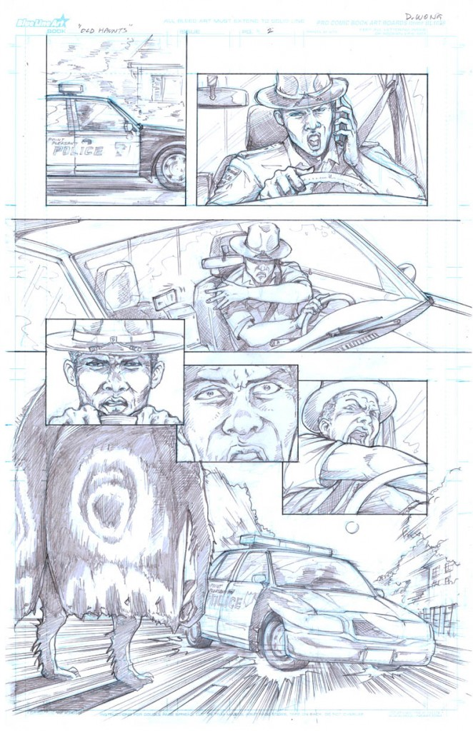 Old Haunts, page 2 © 2011 Daniel Wong, James Cooper