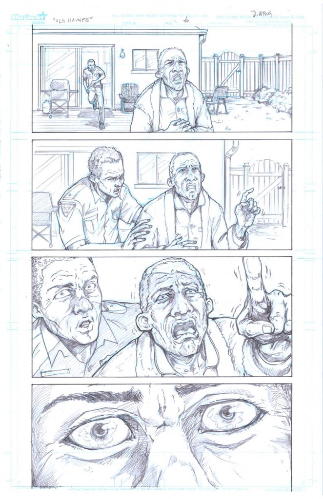 Old Haunts, page 6 © 2011 Daniel Wong, James Cooper